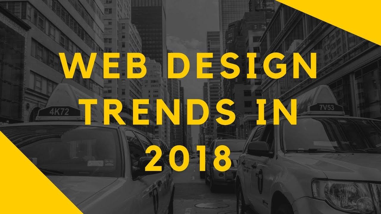 9 Best Web Design Trends For 2018 Graphic Art Design