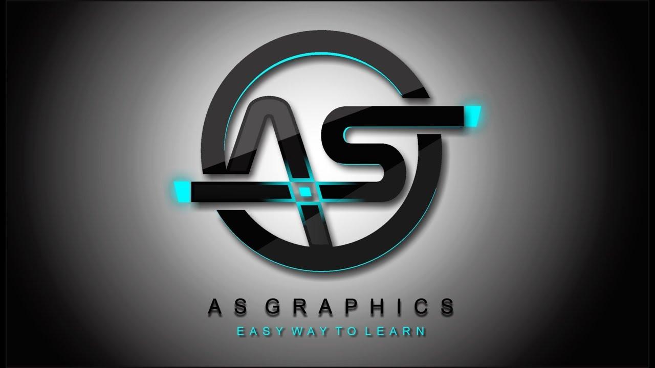 Logo Design 3d Lighting Effect Logo Design Frist Time In Coreldraw X7 Graphic Art Design